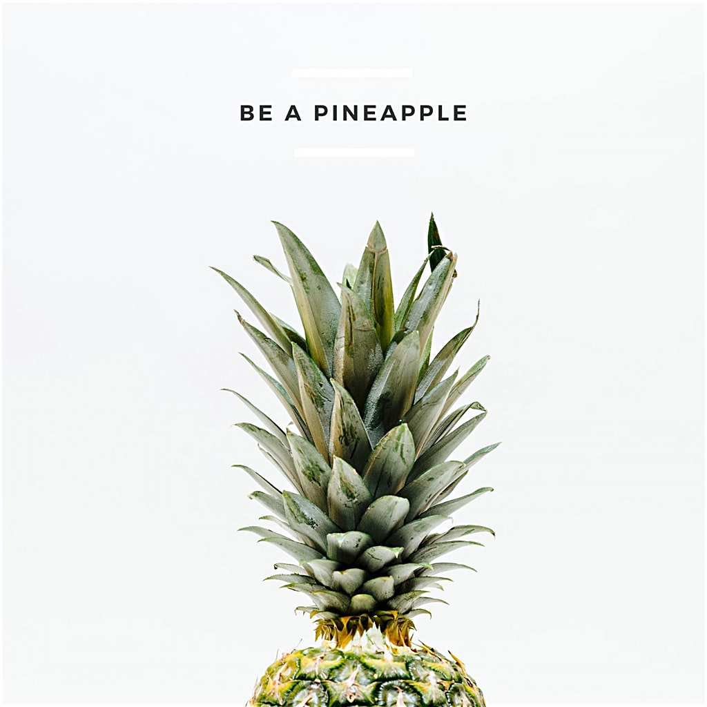 Be A Pineapple Quote Author Pineapple Supply Pineapple Shop On A Mission To Spread Good Vibes